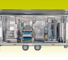 Mobile line M500 chassis for the production of directly squeezed juice