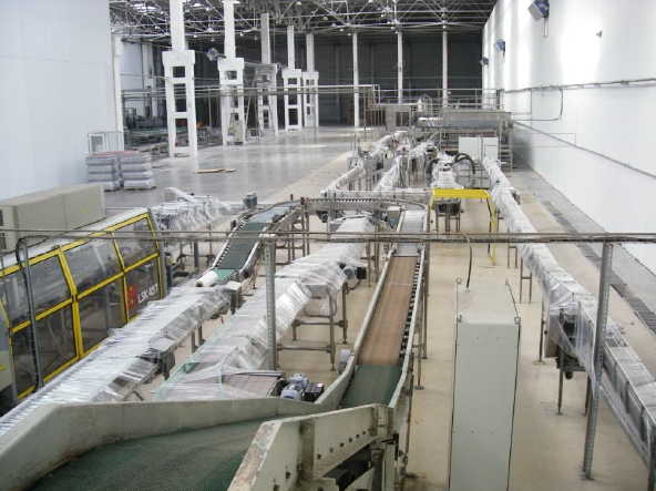 Bottling filling line into the cans KHS, 40 000 can/hour