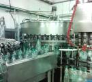 Линия розлива безалкогольных напитков в ПЭТ 1.5л, 6000 бут/час