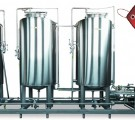 CIP мойка для приготовления моющих растворов СИП-3/1000л