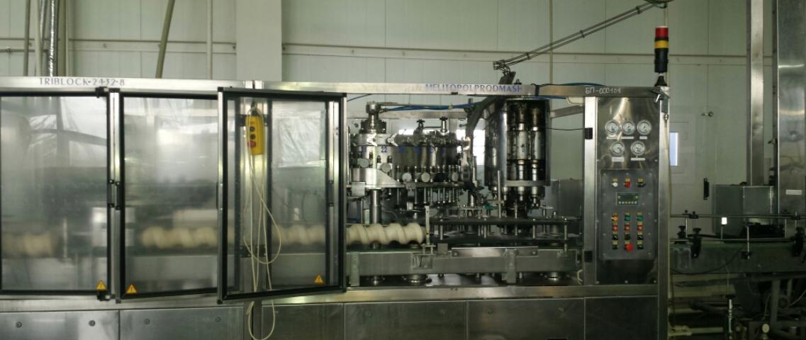 Линия розлива безалкогольных напитков в ПЭТ 3000 бут - 1