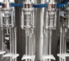 Filling line for cold and hot juice in PET of 6000 bottles/hour