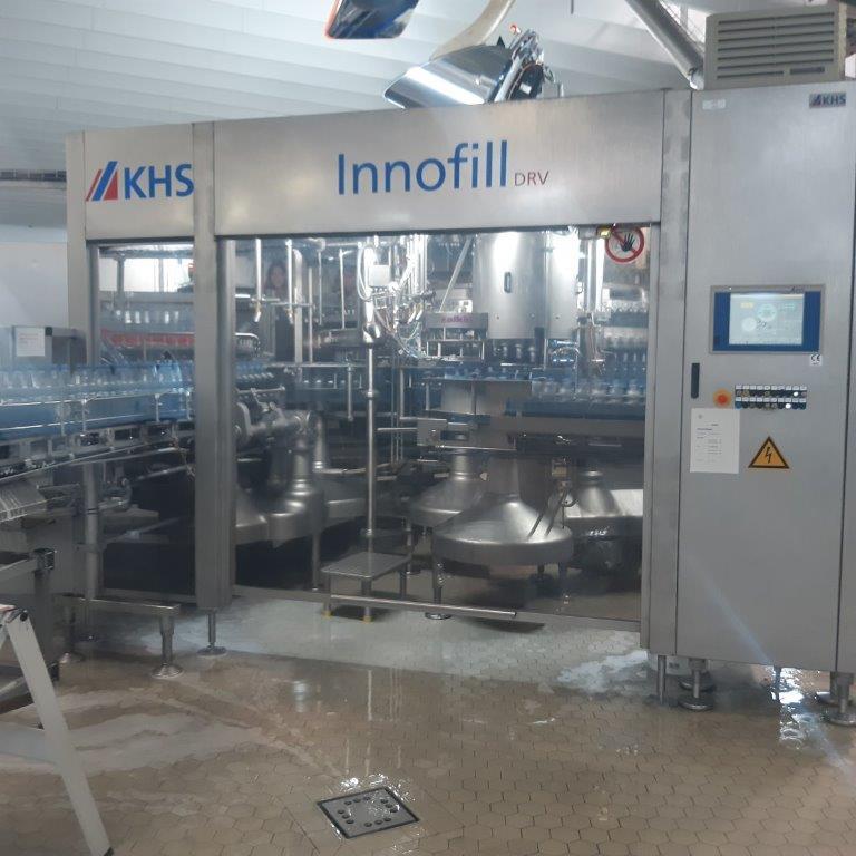 Триблок розлива KHS Innofill DRV, 30.000 б/ч, 2005