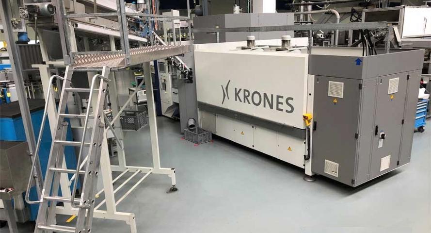 Выдувная машина KRONES Contiform S8 - 1